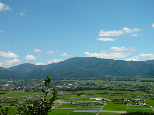 白髪岳遠景